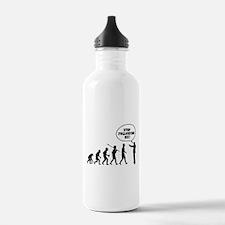 Stop Following Me! Sports Water Bottle