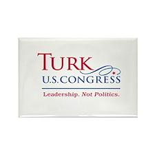 Turk Leadership Rectangle Magnet