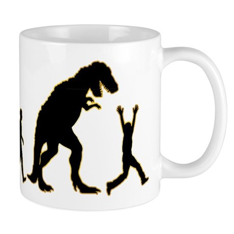 Run From Dinosaur Mug