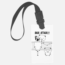 Volleyball back attack Luggage Tag