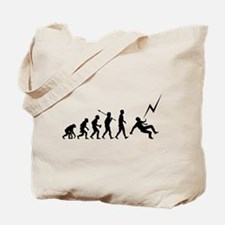Struck By Lightning Tote Bag
