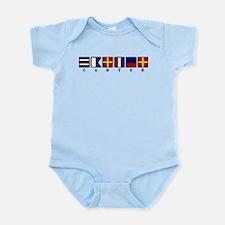 Nautical Carter Infant Bodysuit