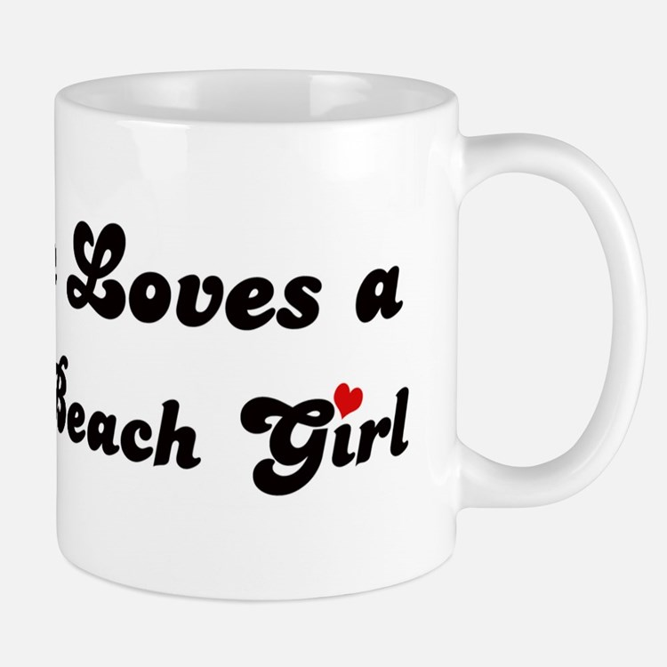 La Selva Beach girl Mug