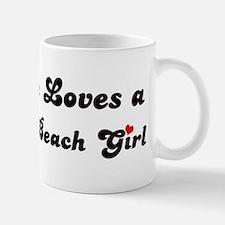 La Selva Beach girl Small Small Mug