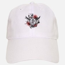 Wings and Ribbon Brain Cancer Hat