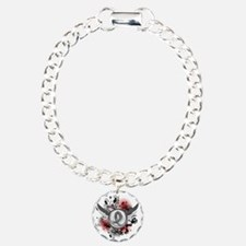 Wings and Ribbon Brain Cancer Bracelet