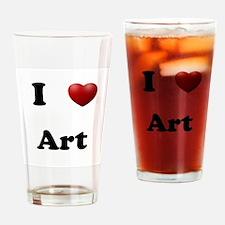Art Drinking Glass