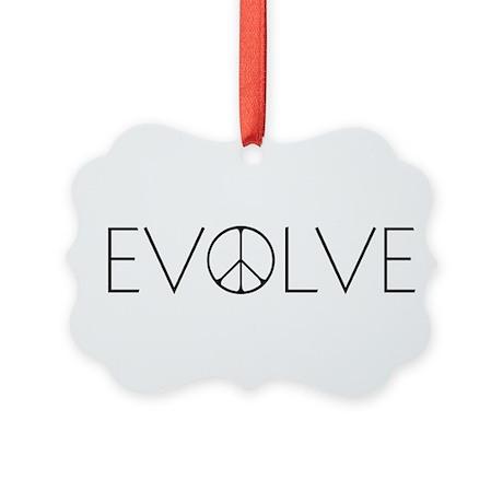 Evolve Peace Narrow Picture Ornament