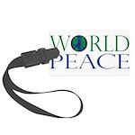 World Peace Large Luggage Tag