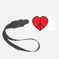 new peace heart copy.png Luggage Tag