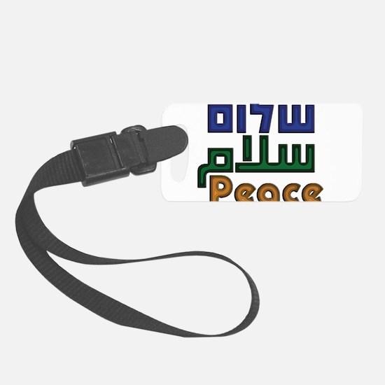 ShalomSalamPeaceIsraelisPalestinians.png Luggage Tag