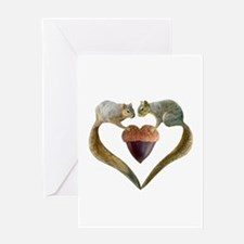 Love Squirrels Greeting Card