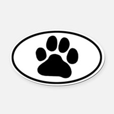 Dog Paw Car Magnets Personalized Dog Paw Magnetic Signs For Cars - Custom car magnets paw print