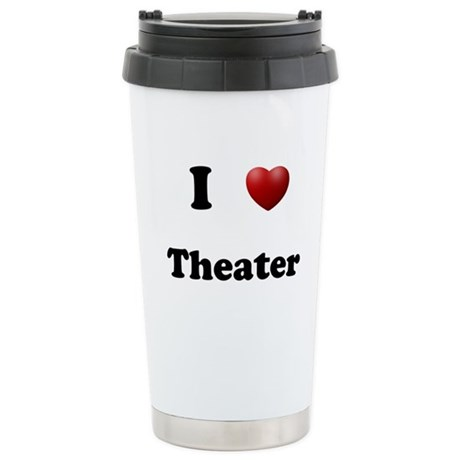 Theater Stainless Steel Travel Mug