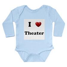 Theater Long Sleeve Infant Bodysuit
