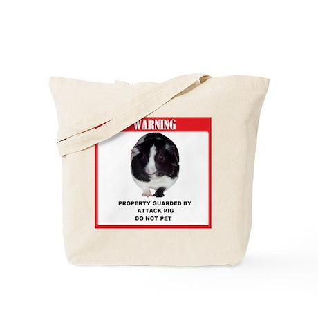 Attack Pig Property Tote Bag