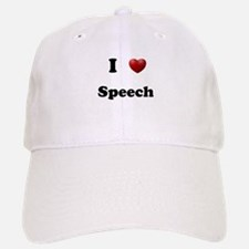 Speech Baseball Baseball Cap