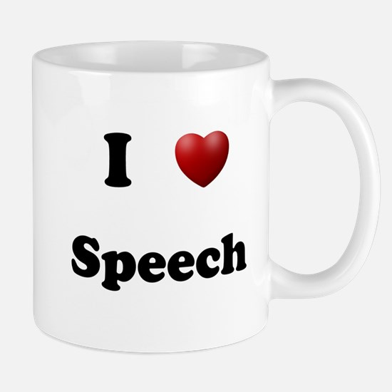 Speech Mug