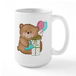 Boo Boo Birthday Bear 1 Large Mug