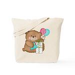 Boo Boo Birthday Bear 1 Tote Bag