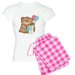Boo Boo Birthday Bear 1 Women's Light Pajamas