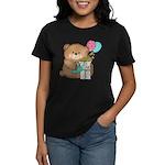 Boo Boo Birthday Bear 1 Women's Dark T-Shirt