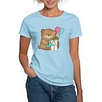 Boo Boo Birthday Bear 1 Women's Light T-Shirt