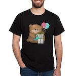 Boo Boo Birthday Bear 1 Dark T-Shirt