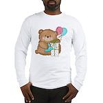 Boo Boo Birthday Bear 1 Long Sleeve T-Shirt