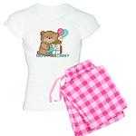 Boo Boo Bear Birthday 1 Women's Light Pajamas