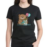Boo Boo Bear Birthday 1 Women's Dark T-Shirt