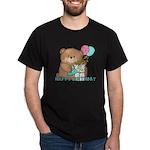 Boo Boo Bear Birthday 1 Dark T-Shirt