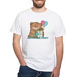 Boo Boo Bear Birthday 1 White T-Shirt