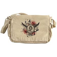 Wings and Ribbon Parkinson's Messenger Bag