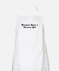 Westmont girl BBQ Apron