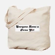 Termo girl Tote Bag