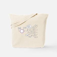 No Toxic Sperm! Tote Bag