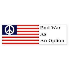 Anti-War Bumper Bumper Sticker