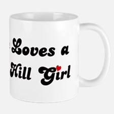 Telegraph Hill girl Mug