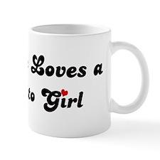 Sausalito girl Mug