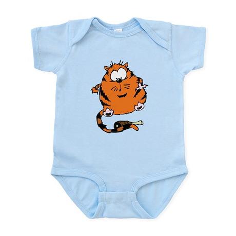 Funny Cat Infant Bodysuit