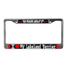 NB_Lakeland Terrier License Plate Frame