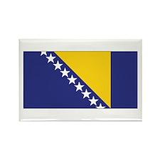 Bosnia Flag Rectangle Magnet