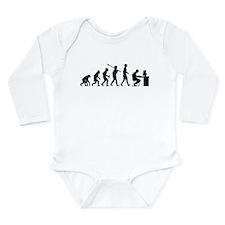 Computer Geek Long Sleeve Infant Bodysuit