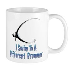 I swim to a different drummer Mug