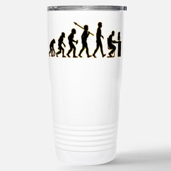 Computer Geek Stainless Steel Travel Mug