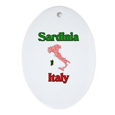 Sardinia Oval Ornament