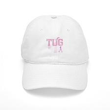 TUG initials, Pink Ribbon, Baseball Cap