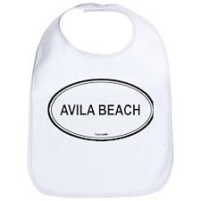 Avila Beach oval Bib
