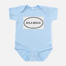 Avila Beach oval Infant Creeper